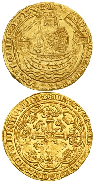 kunker Edward III Gold Noble Coin Rarities & Related Topics: Auctions in March