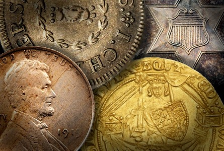 Coin Rarities & Related Topics: Auctions in March