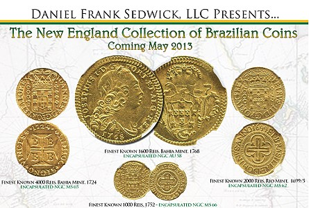 The New England Collection Of Brazilian Coins