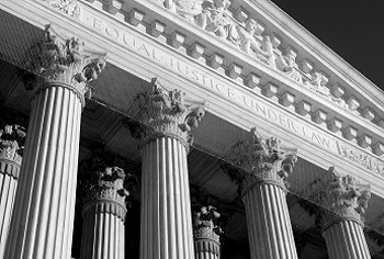supreme court bw From small acorns…. Ancient Coin Collectors on the steps of the Supreme Court
