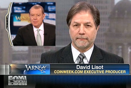 All that Glitters – CoinWeek's David Lisot on Fox Business News Varney & Company