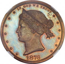 DollarSailorHeadO1 275x270 Coin Rarities & Related Topics: The Fabulous Eric Newman Collection, Part 2    Patterns