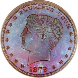 MorganCoiledHairDollar1879O1 275x273 Coin Rarities & Related Topics: The Fabulous Eric Newman Collection, Part 2    Patterns