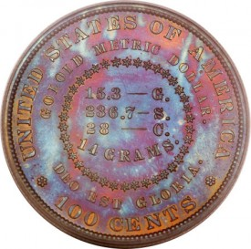 MorganCoiledHairDollar1879R1 275x273 Coin Rarities & Related Topics: The Fabulous Eric Newman Collection, Part 2    Patterns