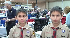 boyscouts march2013 Boy Scouts Talk About Coin Collecting at Whitman Expo, VIDEO 2:56