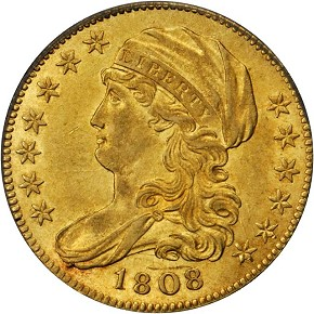 grsb 08 Coin Rarities & Related Topics: Half Eagles ($5 gold coins) in March Rarities Night Auction