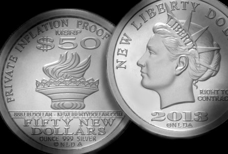 "Silver Bullion News: The ""New"" Liberty Dollar is Back"