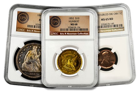 Coin Rarities & Related Topics: The Fabulous Eric Newman Collection, part 1
