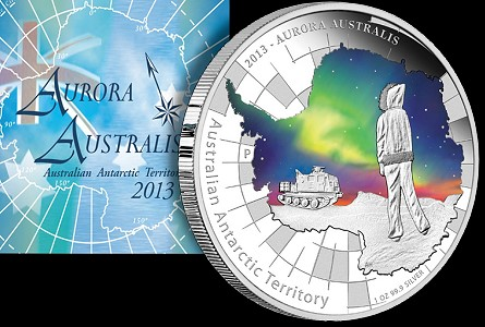 Aurora Australis Glows on Perth Mint Coin: First Ever glow-in-the-dark Coin