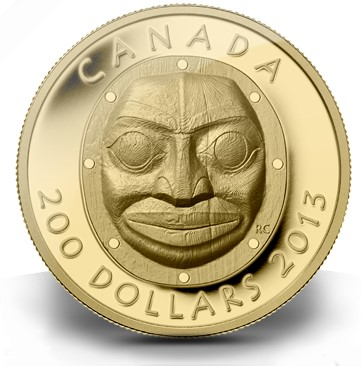 rcm april2013 mask The Coin Analyst: Royal Canadian Mint Dazzles Collectors with New Coins for April, But Distribution Method Shuts Out Many Buyers
