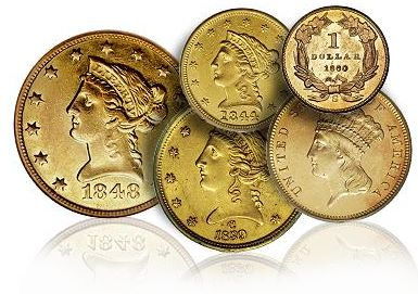 us coins gold The PCGS Set Registry for 19th Century Gold Collectors: Part One