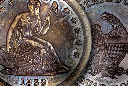 Coin Rarities & Related Topics: The Only Known Proof 1839 Quarter