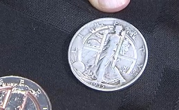 Coin Collecting and Coins for Alcoholics Anonymous. VIDEO: 4:52.