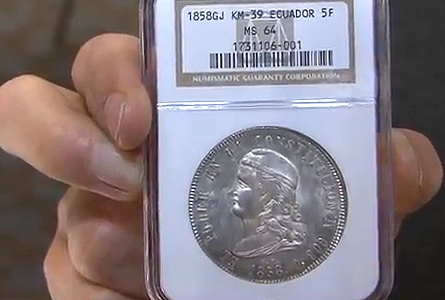 Cool World Coins! CICF World Coin Convention Chicago 2013. VIDEO: 8:21.