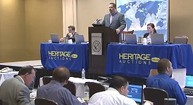 Heritage Auctions Sells Canadian and Brazilian Rarities at 2013 CICF Chicago. VIDEO: 1:52