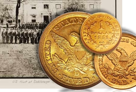 Collecting Southern US Gold Coins