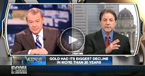 david varney CoinWeeks David Lisot with Fox Business News Host Stuart Varney on Golds Biggest Pullback in 30 Years