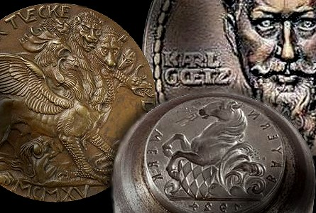 goetz ha Heritage Auctions to offer more than 1,200 original dies and hubs from engraver Karl Goetz