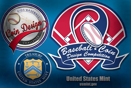 mint baseball United States Mint Opens Baseball Coin Design Competition