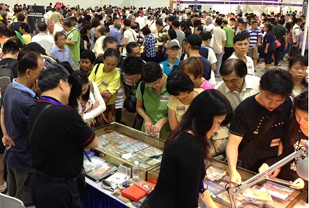 Singapore International Coin Fair Attracts Over 10,000 Enthusiastic Attendees