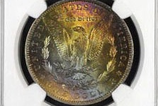 Over The Rainbow : Collectors have a deep appreciation for coins with attractive, original toning.