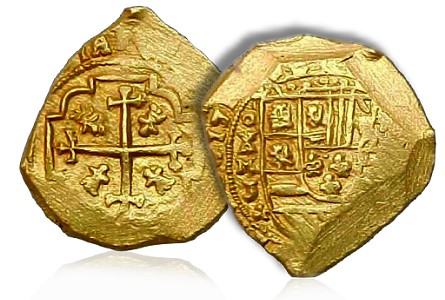 1715 gold 2 Numismatic History: The Loss of the 1715 Spanish Treasure Fleet