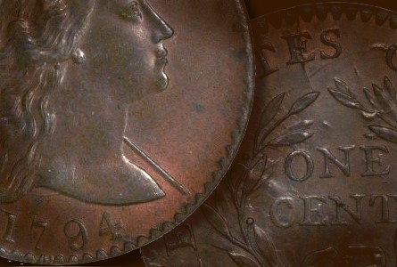 Coin Rarities & Related Topics: The Best Eliasberg 1794 cent, which has been in several Epic Coin Collections