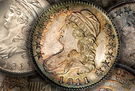 1811 capped bust halves Coin Rarities & Related Topics: Half Dollars of 1811, with emphasis upon two 'in the news'!