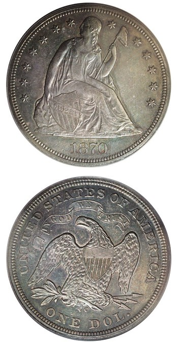 1870 cc dollar Carson Citys First Silver Dollar Was Not a Morgan Dollar