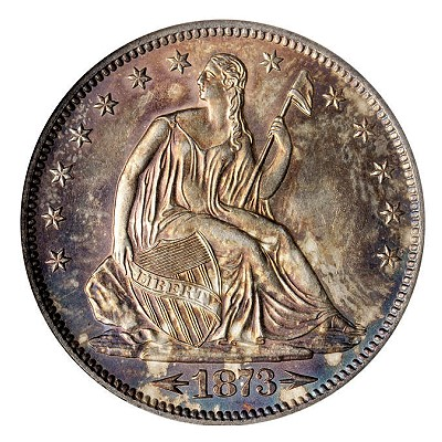 1873 s 50c bonhams Opportunity Knocks In Golden State Trio Of Early June Auctions A Gold Mine For Collectors