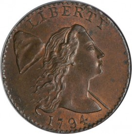 EliasS26o1 271x275 Coin Rarities & Related Topics: The Best Eliasberg 1794 cent, which has been in several Epic Coin Collections