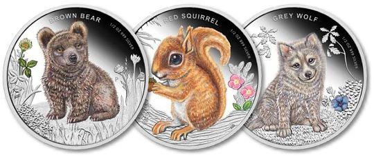 ForestBabies May 2013 Product Releases from The Perth Mint
