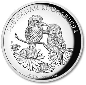 Kookaburra May 2013 Product Releases from The Perth Mint