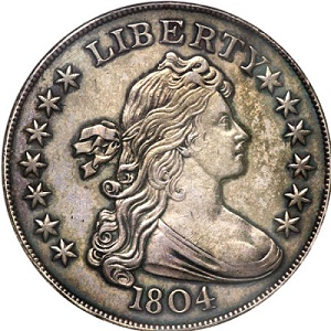 MD 1804 dollar1 Coin Rarities & Related Topics: Million Dollar Coins & Notes Lead Central States Auction, Part 2