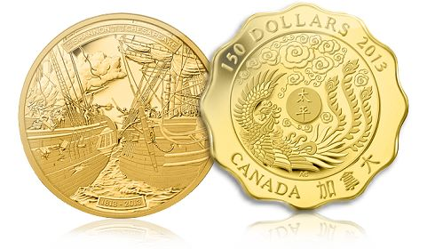 May2013 Royal Canadian Mints Newest Collector Coins Open Many New Windows on the Story of Canada