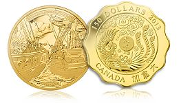 Royal Canadian Mint's Newest Collector Coins Open Many New Windows on the Story of Canada