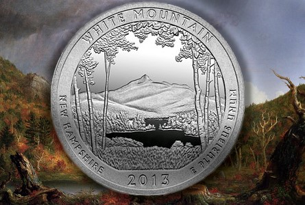 The Coin Analyst: White Mountain Five-Ounce Silver Numismatic Coin Available May 16, as America the Beautiful Series Strives to Reach Series Maturity