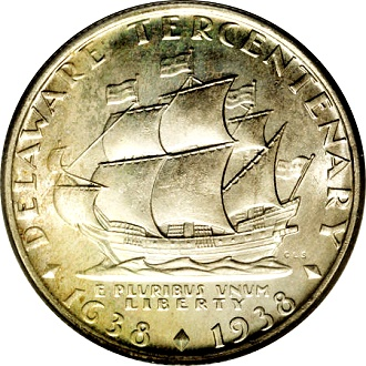 boat deleware The Great Ships of American Coinage