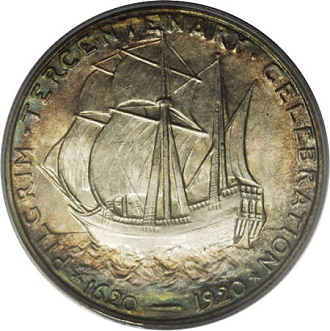 boat pilgram The Great Ships of American Coinage