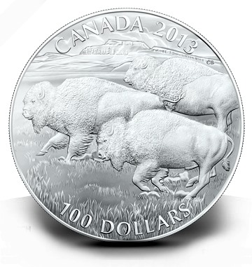 canada buffalos The Coin Analyst: Should the U.S. Mint Sell Precious Metal Coins at Face Value?