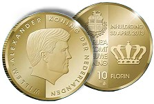dutch coins Dutch Component States Celebrate Investiture of New Dutch King