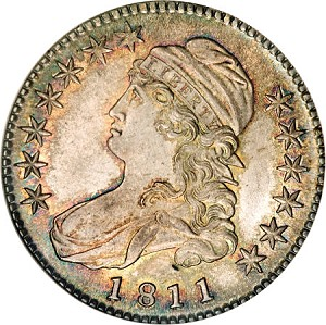 gr 1811 50c 68 Coin Rarities & Related Topics: Half Dollars of 1811, with emphasis upon two 'in the news'!