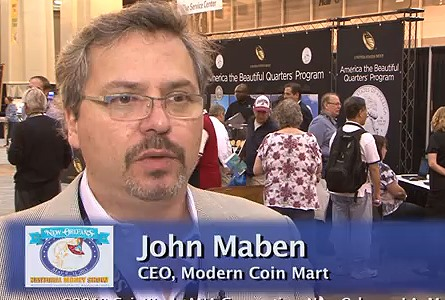 John Maben Talks About the New 2013 West Point Silver Eagle Set. VIDEO: 6:05