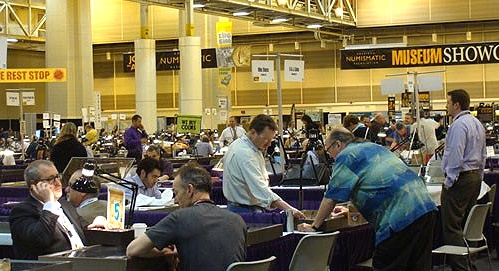 ngc newOrleans show floor New Orleans Jazzed Up For Numismatics: Stacks Bowers Claims Nearly $7 Million