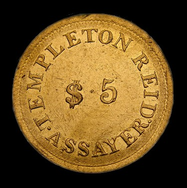 templeton reid 5 Coin Rarities & Related Topics: The Southern Gold Rush, the Seymour Collection, and Templeton Reid