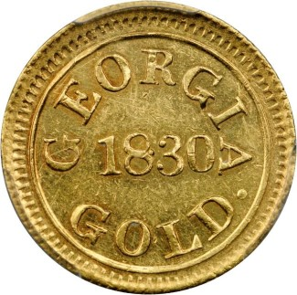 tr georgia 250 Coin Rarities & Related Topics: The Southern Gold Rush, the Seymour Collection, and Templeton Reid