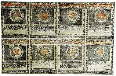 Auction of Revolutionary War Era-1780 Rhode Island Currency Today