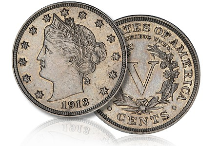 walton 1913 5c ha Coin Rarities & Related Topics: Million Dollar Items Lead Central States Auction, Part 1