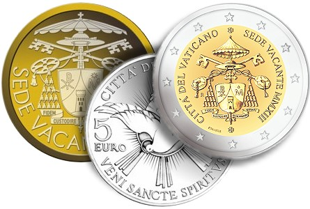 2013 vatican see The Coin Analyst: Modern World Coin News Round Up