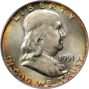 50c frank obv Coin Rarities & Related Topics: Inexpensive 20th Century Half Dollars for Beginners